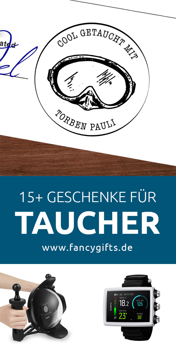 21 coole geschenke f r taucher fancy gifts. Black Bedroom Furniture Sets. Home Design Ideas