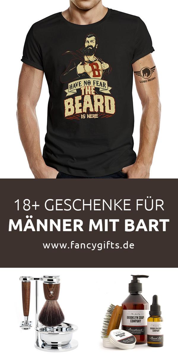 23 coole Geschenkideen für Männer mit Bart | fancy gifts