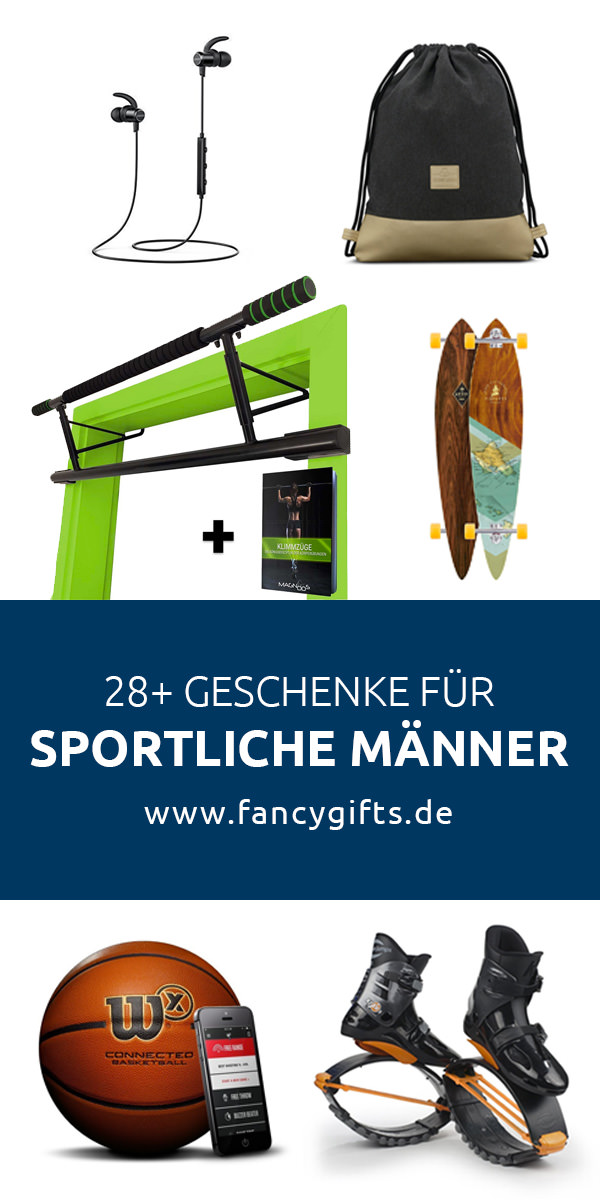 32 coole geschenke f r sportliche m nner fancy gifts. Black Bedroom Furniture Sets. Home Design Ideas