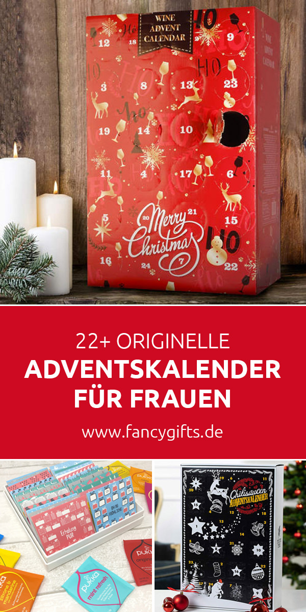 Originelle Adventskalender für Frauen