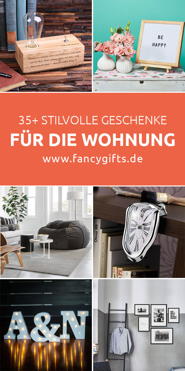 60 stilvolle geschenke f r die wohnung fancy gifts. Black Bedroom Furniture Sets. Home Design Ideas