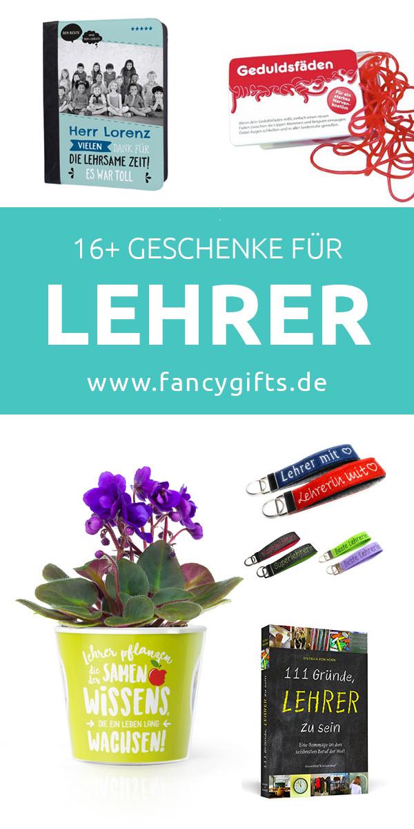 17 Geschenke für Lehrer | fancy gifts