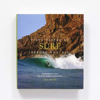 Buch Fifty Places to Surf Before You Die - Coole Geschenke für Surfer