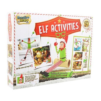Adventskalender Elf Activities mit lustigen Bastelideen -