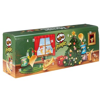 Pringles Chips Adventskalender - Originelle Adventskalender für Frauen