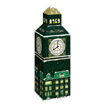 After Eight Adventskalender im Big Ben Design - Originelle Adventskalender für Frauen