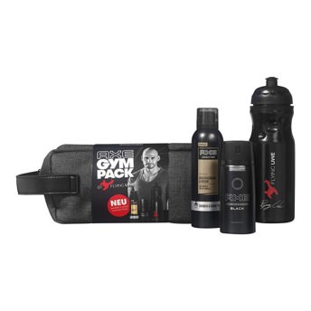 Axe Gympack Flying Uwe inkl signierter Trinkflasche -