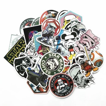 50 coole Star Wars Sticker -