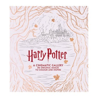 Harry Potter A Cinematic Gallery Ausmalbuch -