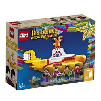 LEGO Ideas 21306 The Beatles Yellow Submarine -