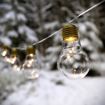 Lumify Vintage Bulbs USB Solar Vintage Bulb Lights -