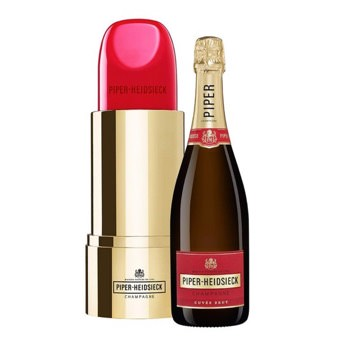 PiperHeidsieck Cuve Brut Lipstick Champagner Edition mit  -