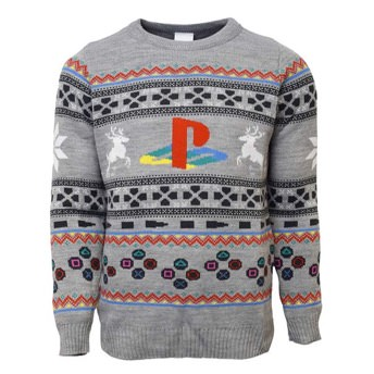 Festlicher Playstation Pullover -