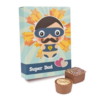 Pralinen Super Dad -