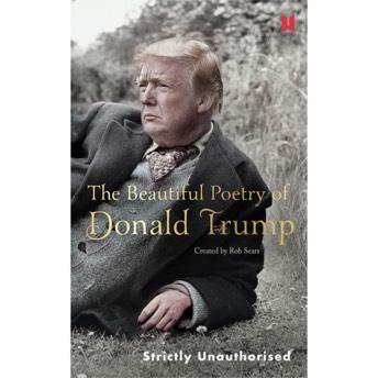 The Beautiful Poetry of Donald Trump Gebundenes Buch - Lustige Donald Trump Gag Geschenke