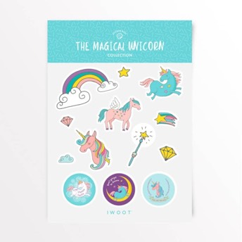 The Magical Unicorn Sticker Pack -