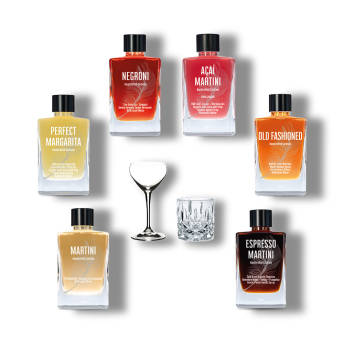 Bottled Cocktails fr den Souvernen Mann -