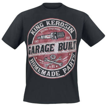Garage Built TShirt von King Kerosin -