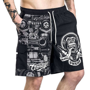 Gas Monkey Garage Badeshorts -