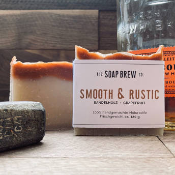 Smooth Rustic Naturseife -