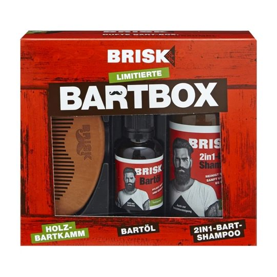 Brisk for Men Bartbox Geschenkset
