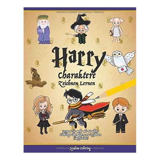 Harry Charaktere Zeichnen Lernen Lernen Sie Mehr Als 40 Ihrer Lieblings Charaktere Zu Zeichnen Inoffiziell Amazon De Joydom Coloring Bucher Dann nimm dir ein paar minuten zeit, und schau dir meine schoensten fotos von harry, hogwarts und co. harry charaktere zeichnen lernen