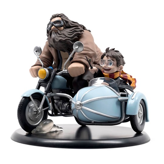 Harry Potter and Rubeus Hagrid Q-Fig MAX Vinyl Figur - Limited Edition