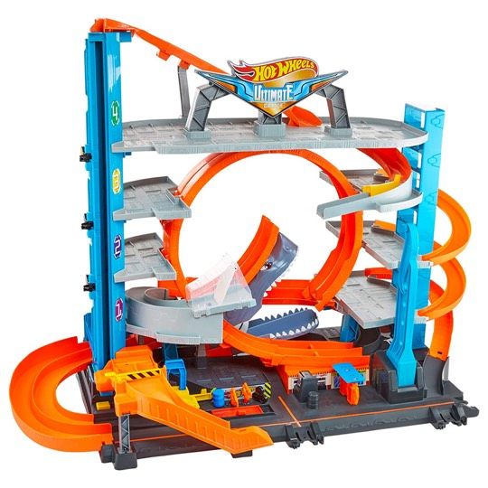 Hot Wheels Ultimate Parkhaus mit Looping für 90+ Autos