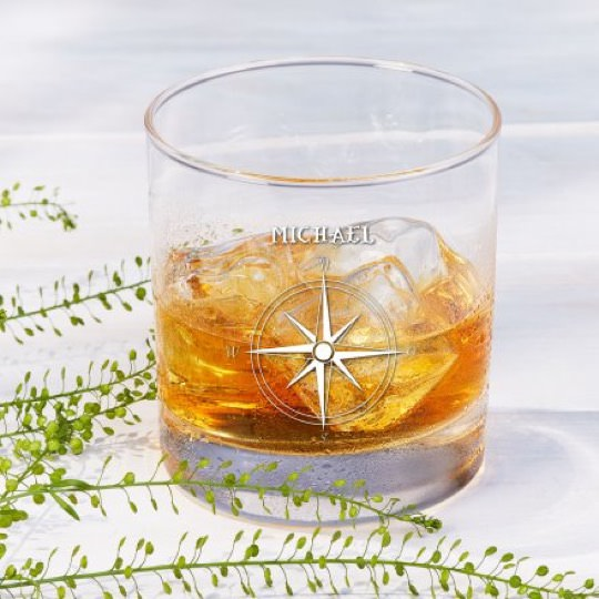 Personalisierbares Whisky Glas