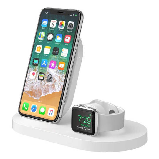Belkin Boost Up - drahtlose Ladestation für iPhone, iPad, Apple Watch und AirPods